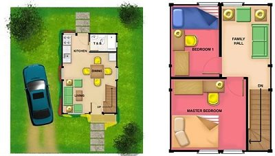 Layout of Arsia house unit