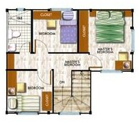 Second floor layout, Ravena