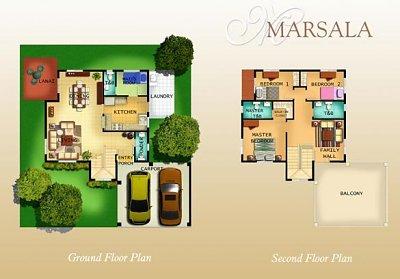 Layout of Marsala unit