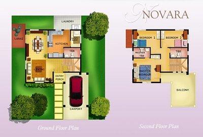 Layout of Novara unit
