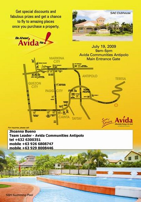Avida Land Antipolo House and Lot